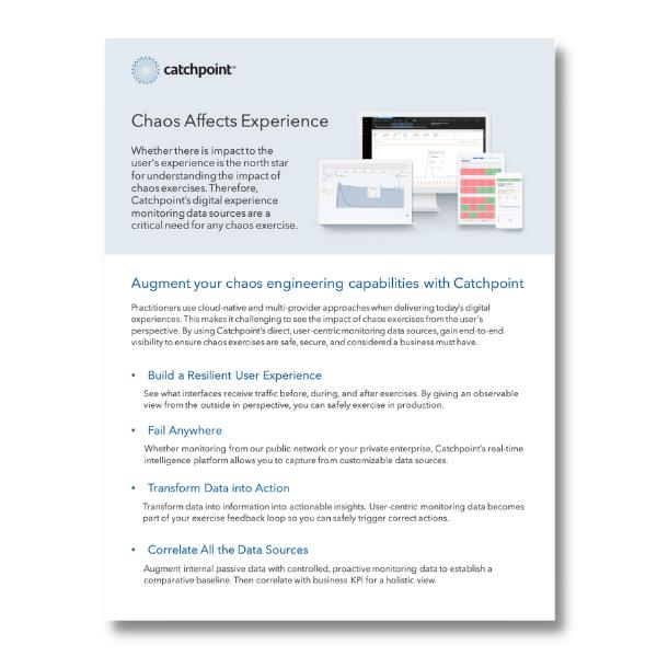 Chaos Datasheet LP content image