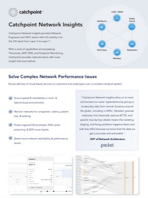 Network Insights Data Sheet