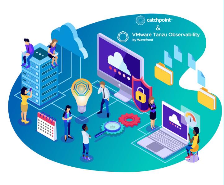 VMware Tanzu x Catchpoint Header